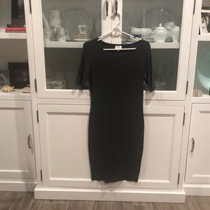 Lula Roe Gray Julia dress